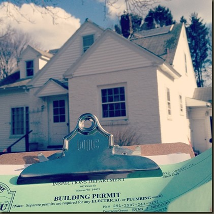 Building Permit for New Roof
