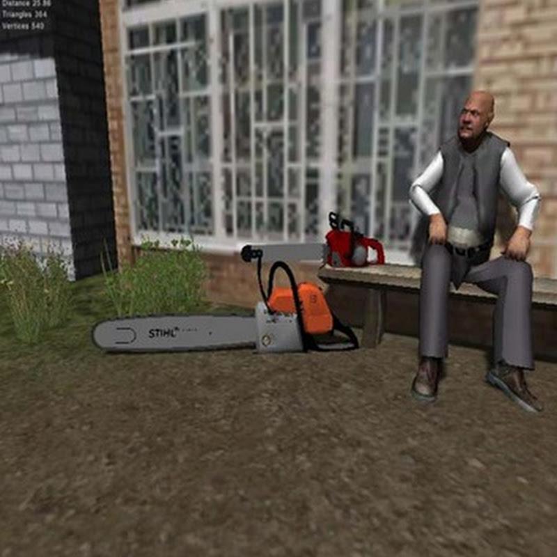 Farming simulator 2013 - Stihl chainsaw v 1.0 (Motosega)