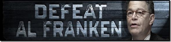 Defeat Al Franken Banner