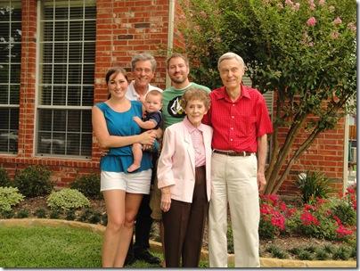 6.  The LaPrades - 4 generations