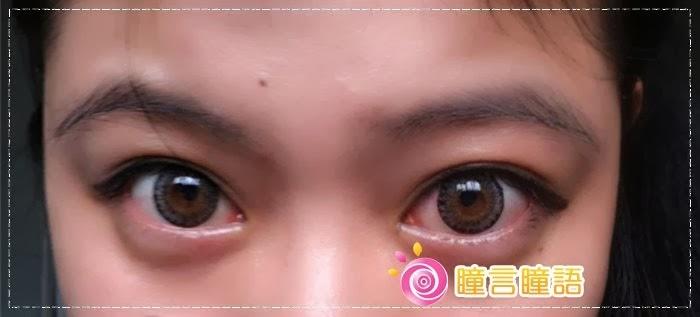 韓國GEO隱形眼鏡-GEO Berry Holic 混血三色灰10