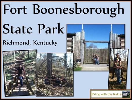 Live your life, our family motto.  Here are some amazing things we did during our RV vacation between workamping jobs. RVing with the Rakis - Fort Boonesborough State Park in Kentucky