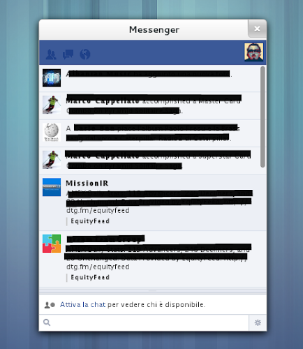 Facebook Messenger su Linux