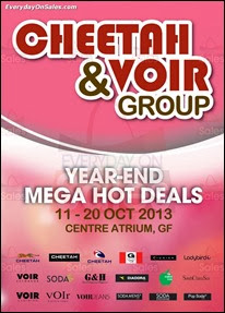 Cheetah & Voir Group Year End Mega Hot Deals Atrium Sale 2013 Deals Offer Shopping EverydayOnSales