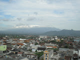 The Liman mountain range as see from a hotel in Kediri (Daniel Quinn, July 2010)