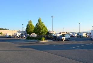 morning at WalMart