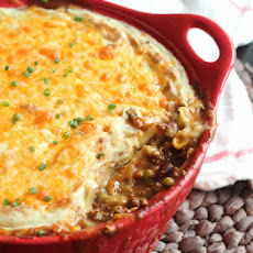 BBQ Chili Shepherd's Pie