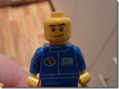 Lego face