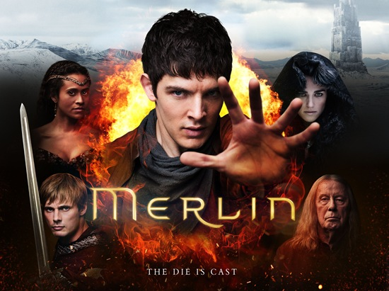 Merlin series 5 poster - The Die Is Cast
