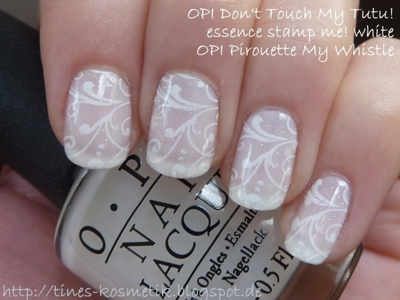 OPI Dont Touch My Tutu Stamping 1