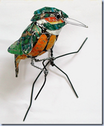 Recyled Metal Birds