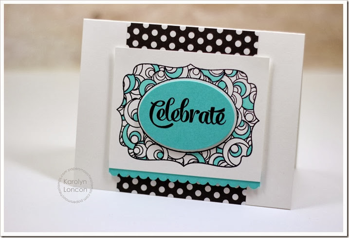 Karolyn - Blog Hop - Flirty Frames