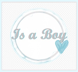 IsABoy {Semplicemente Perfetto} Baby Gender Announcement