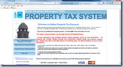 BBMP propertyTax Bangalore