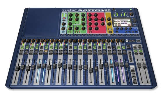 Soundcraft Si Expression 2 Front 1