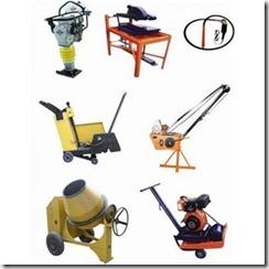 Control de calidad de mano de obra y equipos de construcción.