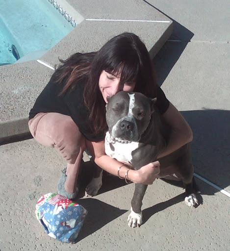 Michelle and Honey. The love between a loyal pooch and the human who adopted her runs deeper than one can imagine.