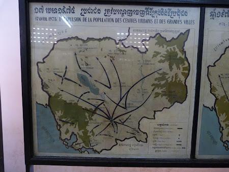 Khmerii rosii Phnom Penh: evacuarea orasenilor in 1975.