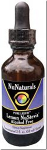 Liquid Lemon NuStevia Alcohol Free