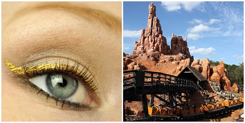 walt disney world frontierland inspired makeup thunder mountain