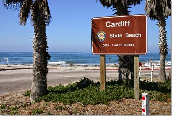 cardiff-state-beach-park-sign