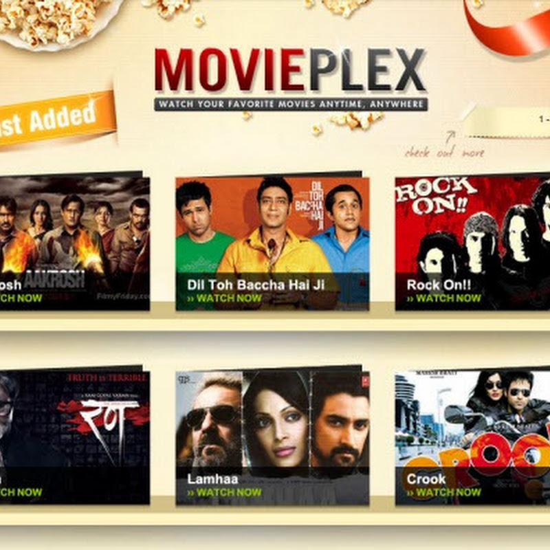 Yahoo Launches MoviePlex. Watch Full Bollywood Movies For Free