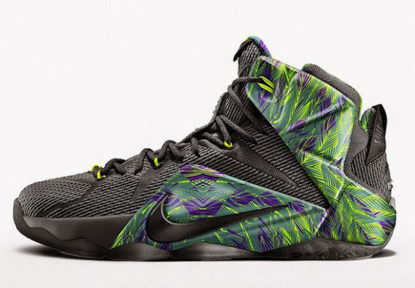 Nike Adds New 8220Instinct8221 Option to NIKEiD LeBron 12 This Week