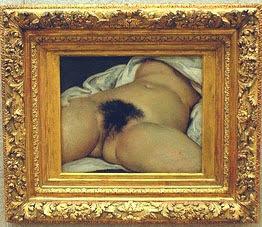 Origine du Monde. Museo d'Orsay (picc.) (G.Courbet 1866)