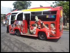 Indonesia, Ambarawa, Local Bus, 11 January 2011 (1)