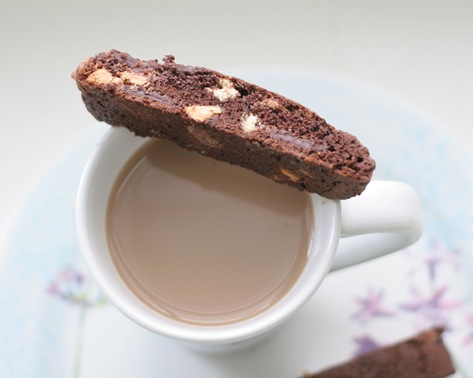 chocolate biscotti 2