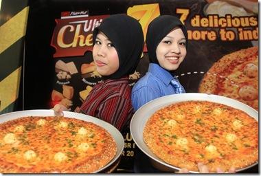 pizza hut ultimate 7 cheesy 1