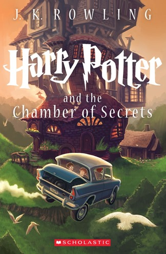 Harry Potter and the Chamber of Secrets 15th Anniversary Paperback Cover by Kazu Kibuishi