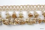 Taśma z koralami (dzwonkami) do dekoracji mebli, zasłon, narzut, poduszek, abażurów.