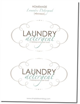 Laundry-Printable