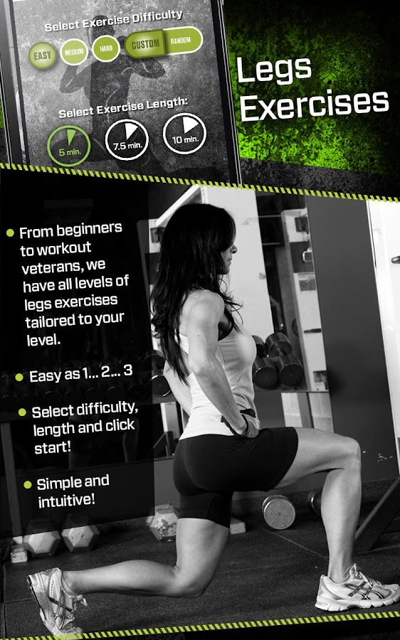 Legs Toner Workout Trainer Screenshot 0