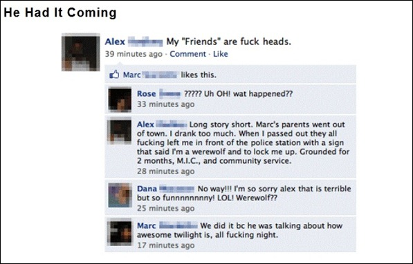 The 7 Funniest Facebook Statuses 07