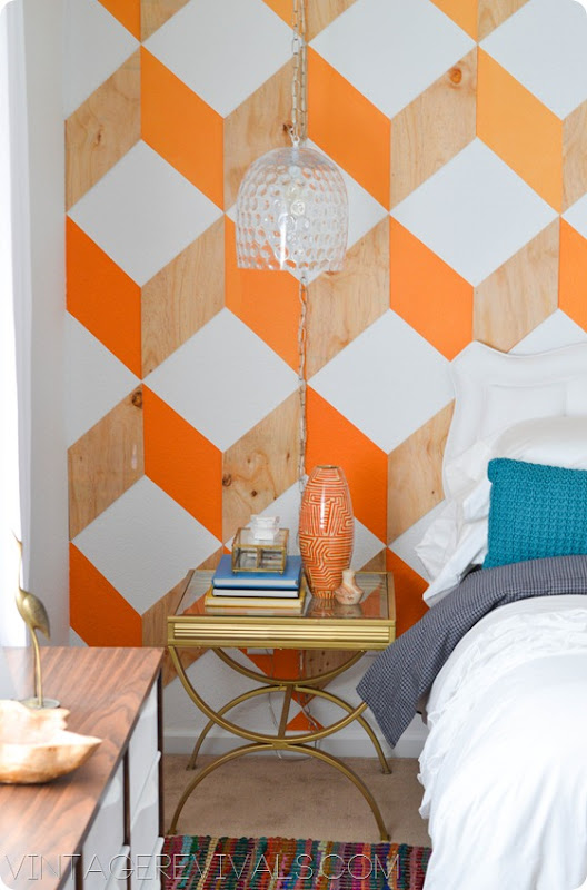 Geometric Wall vintagerevivals.com