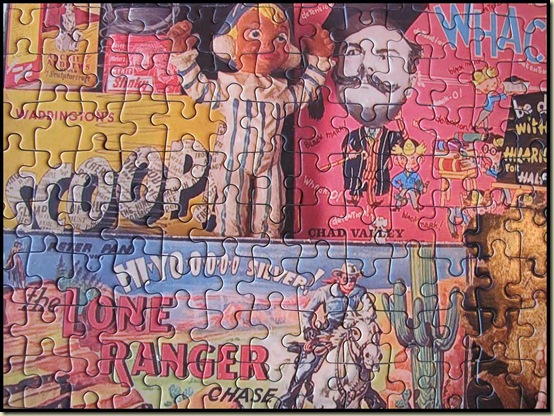 Detail from 1950's jigsaw