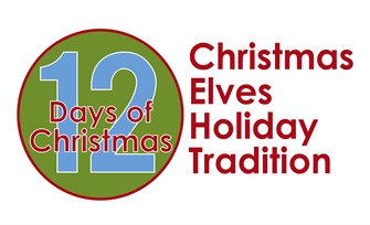 12 Days of Christmas - Christmas Elves Holiday Tradition LOGO
