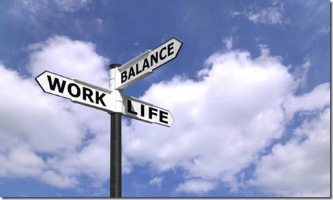 Work Life Balance signpost