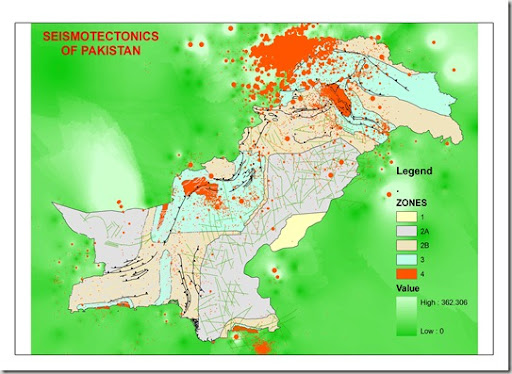 tectonic setting of pakistan Figure showing the distribution of earthquakes around the globe figure showing the tectonic setting of earthquakes  the interior of the earth is divided into layers based on chemical and physical properties.