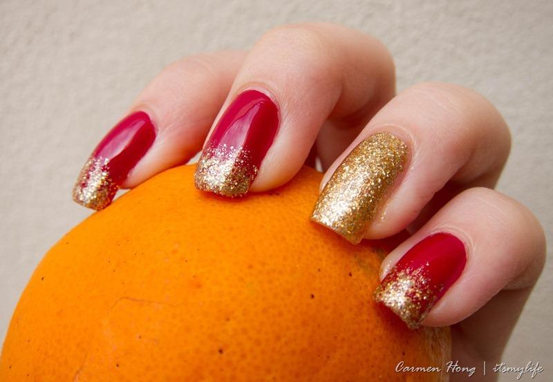 Nail art chinese new year nails its my life nail art chinese new year nails prinsesfo Images