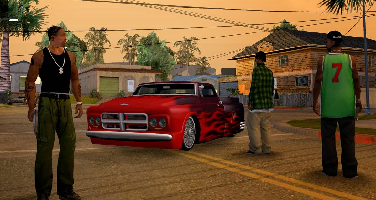 Android Zone: GTA San Andreas 1.05 Apk + Data - Tested