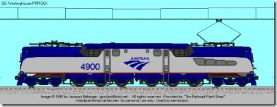 Amtrak PhV gg1