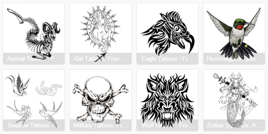 Websites with Free Printable Tattoo Designs and Flash ...