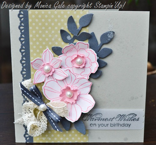 Secret garden, Stampin'Up!_