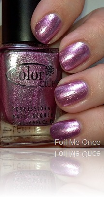 Color Club Foil Me Once