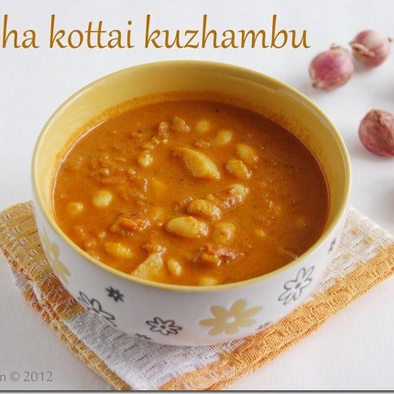 Mocha kottai kuzhambu
