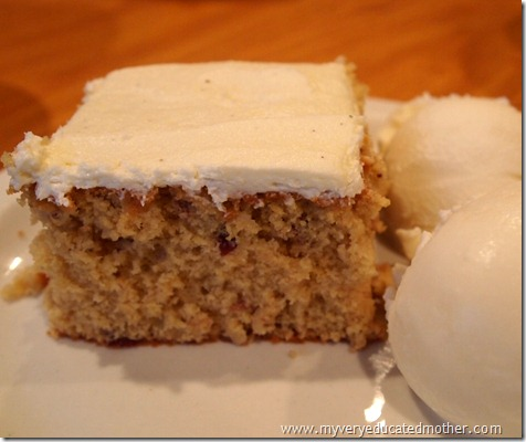 @mvemother Quick and Easy Cranberry Cake
