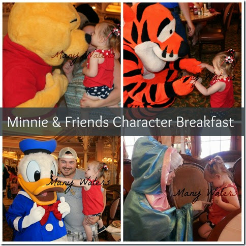 Many Waters Disney Character Breakfast